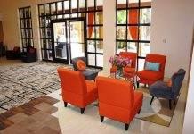 Hotel Tucson City Center Modern Lobby Entrance