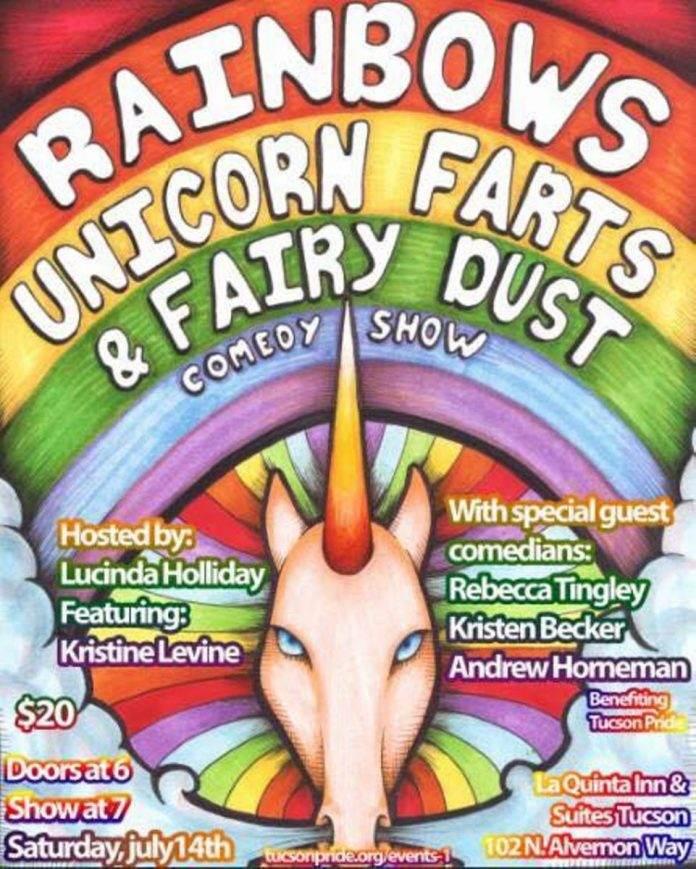 gay pride comedy show