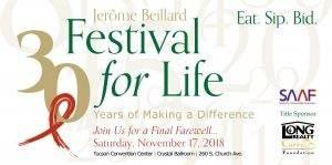 SAAF Jerome Ballard Festival for Life 2018