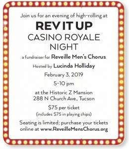 REV IT Up - Casino Royale Night Flyer